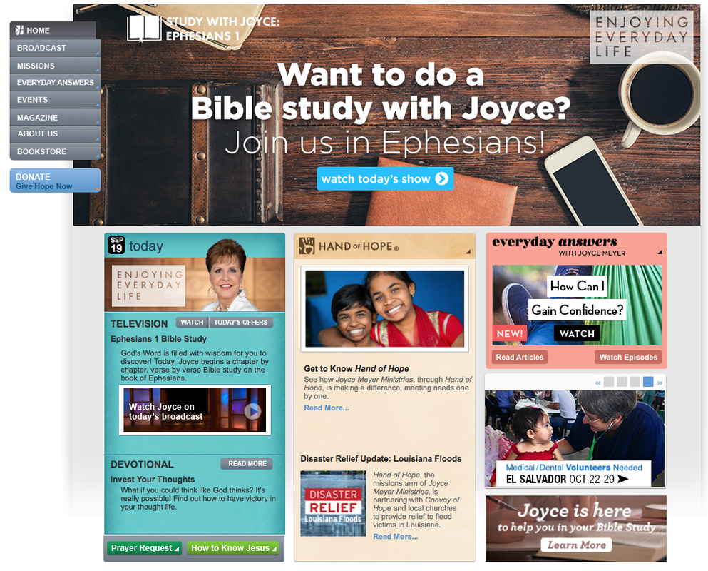 joyce meyer broadcast